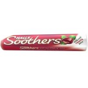 Image for Halls Soothers Cherry