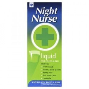 Image for Night Nurse Cold Remedy 160ml