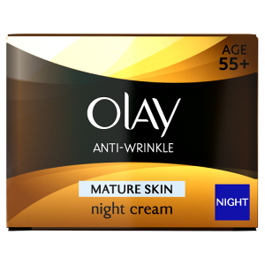 Image for Olay Anti-Wrinkle Mature Skin Night Cream 50ml