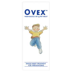 Image for Ovex Single-Tablet Treatment For Threadworms