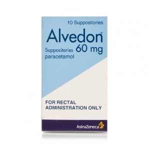 Image for Alvedon 60mg Suppositories 10 Pack