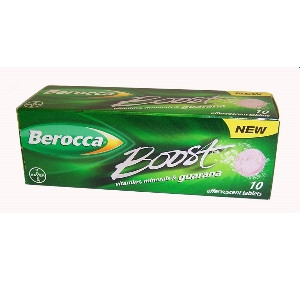 Image for Berocca Boost 10 Effervescent Tablets