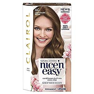 Clairol Nice'n Easy Permanent Hair Colour Natural Light Golden Brown 6G (Formerly 116A)