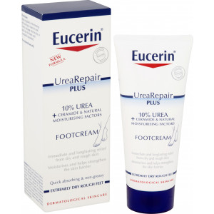 Eucerin UreaRepair Plus Intensive Foot Cream, 10% Urea - Pack of 100ml