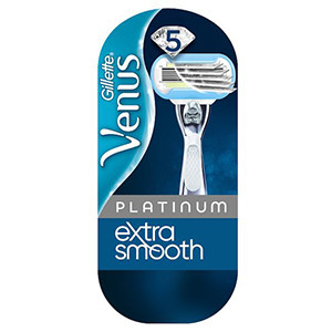 Image for Gillette Venus Extra Smooth Platinum Razor