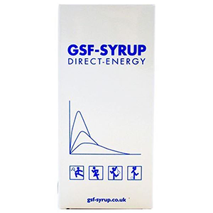 Image for GSF-SYRUP Direct Energy Sachets Orange 12x18g Sachets