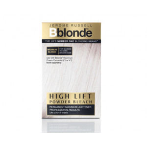 Bblonde High lift Powder Bleach For Blonde to Dark Brown Hair 4x25g