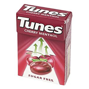 Image for Tunes Cherry Menthol Sugar Free 37g