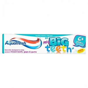 Aquafresh My Big Teeth 6+ Years Fluoride Toothpaste 50ml