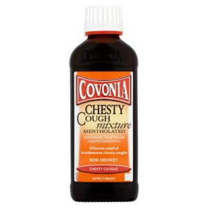 Covonia Chesty Cough Mixture Mentholated 150ml