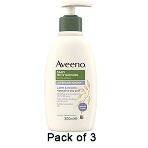 Image for Aveeno Daily Moisturising Lotion with Lavender 300ml