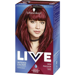 Schwarzkopf Live Color XXL Colour Intense Permanent Coloration 43 Red Passion