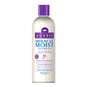 Image for Aussie Miracle Moist Shampoo 300ml