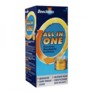 Image for Beechams All In One Liquid 160ml