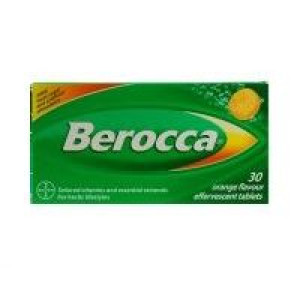 Image for Berocca Effervescent Multi Vitamin 30 tablets