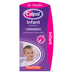 Image for Calpol Infant Suspension Strawberry Flavour 2+ Months 200ml