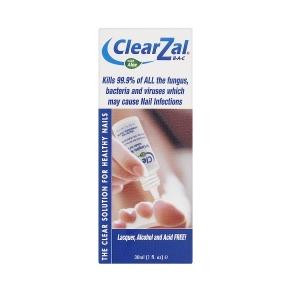 Image for ClearZal Bac Antimicrobial Nail Solution 30ml