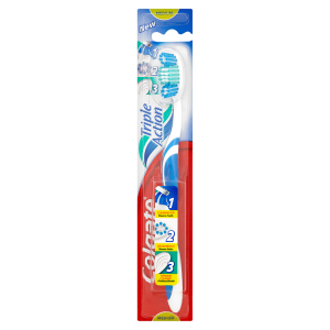 Image for Colgate Triple Action Medium Toothbrush