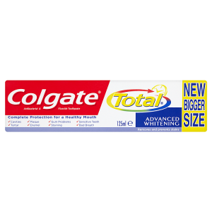 Image for Colgate Total Advanced Whitening Antibacterial & Fluoride 125ml