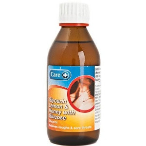 Image for Care Glycerin Lemon And Honey With Glucose 200ml