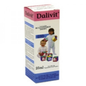 Image for Dalivit Multivitamin Drops 25ml