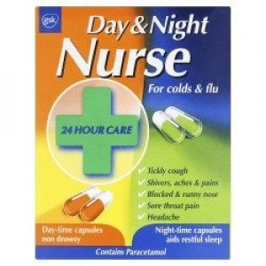 Image for Day and Night Nurse Capsules 24 Capsules