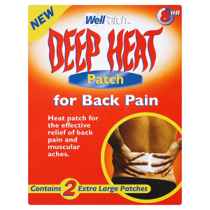 Image for Deep Heat Well Patch Extra Large Patch for Back Pain x 2