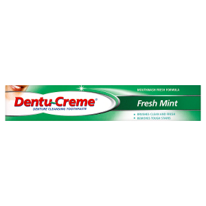 Image for Dentu-Creme Denture Cleansing Toothpaste Fresh Mint 75ml