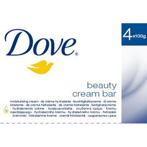 Image for Dove Beauty Cream Bar 4 x 100g