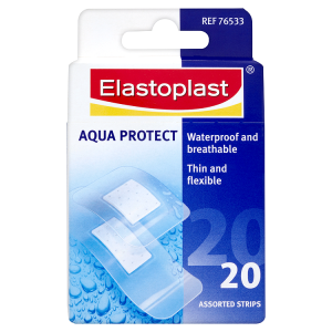 Image for Elastoplast Aqua Protect Plasters 20 Assorted Strips