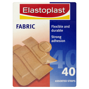 Image for Elastoplast Fabric Plasters 40 Assorted Strips
