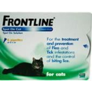 Image for Frontline Spot On Cat 0.5ml 6S Green