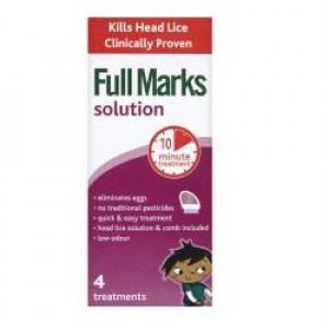 Image for Full Marks Head Lice Solution 200ml