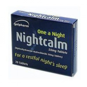 Image for Galpharm One A Nightcalm 50mg 20 Tablets