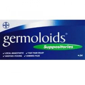 Image for Germoloids Suppositories 24 Suppositories