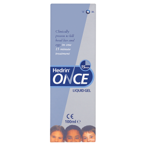 Image for Hedrin Once Liquid 15 Minute Gel 100ml