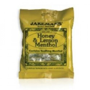 Image for Jakemans Honey & Lemon Menthol Sweets