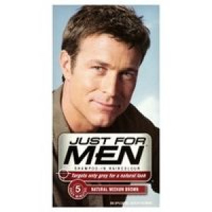Image for Just For Men Shampoo-In Haircolour Natural Medium Brown