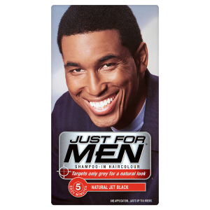 Image for Just for Men Shampoo-in Haircolour Natural Jet Black H-60