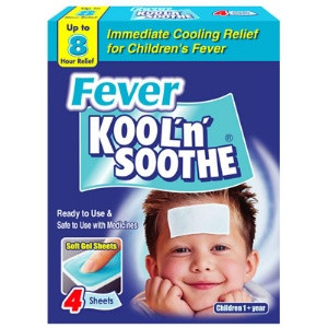 Image for Kool n Soothe Children Fever 4 Pack
