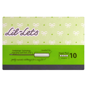 Image for Lil-Lets Non-Applicator Tampons Super Plus 10s