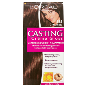 Image for LOreal Paris Casting Crème Gloss Conditioning Colour 535 Chocolate