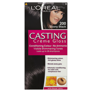 Image for LOreal Paris Casting Crème Gloss Conditioning Colour 200 Ebony Black
