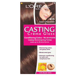 Image for LOreal Paris Casting Crème Gloss Conditioning Colour 415 Iced Chocolate