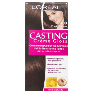 Image for LOreal Paris Casting Crème Gloss Conditioning Colour 400 Dark Brown