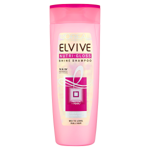Image for LOreal Paris Elvive Nutri-Gloss Shine Shampoo 400ml