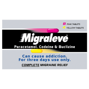 Image for Migraleve 8 Pink & 4 Yellow Tablets