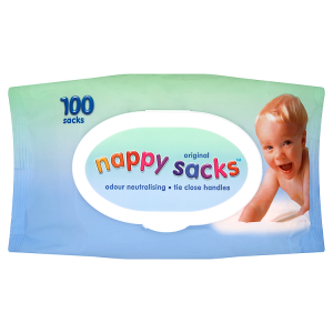 Image for Nappy Sacks Original 100 Sacks
