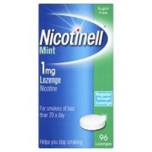 Image for Nicotinell Mint 1mg 96 Lozenges