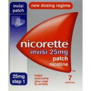 Image for Nicorette invisi 25mg Patch 7 Patches